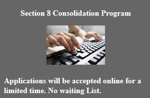 Section 8 housing application. How to apply for Section 8 online.