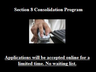 Section 8 application online.